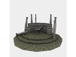 Temple Ruin - OpenGameArt - Terrain