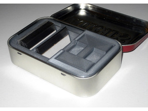 Altoids Tin Razor Blade Storage
