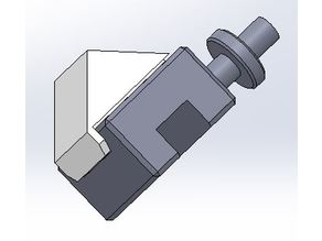 Lathe tool post under shelf mount
