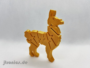 Flexi Articulated Lama