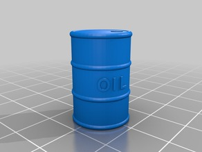 Customizable oil drum