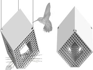 Parallelograft Birdhouse