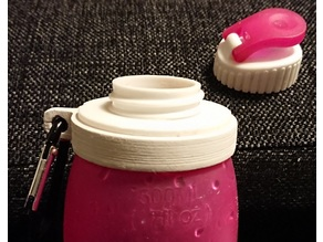 Halti silicon drinking bottle 'Pullo'