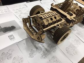 V8 CAR Model