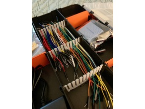 Jumper Wire Racks for HDX Organizer Compartments