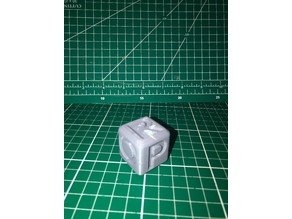 Letter Cube Learn Letters 6CM