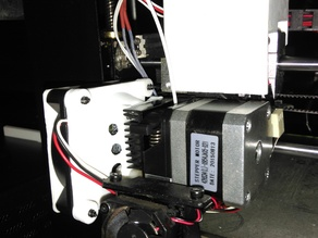 Wanhao Duplicator i3 Extruder Fan Adapter 40mm to 60mm