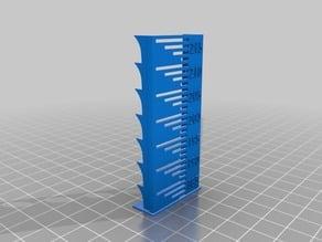 Temperature calibration tower