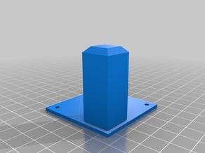 Base for 20mm square tube