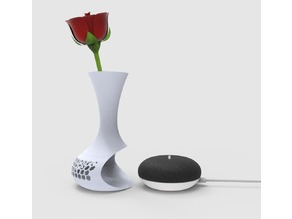 google home mini vase case