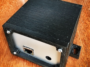 Arduino + Shield wall mountable enclosure