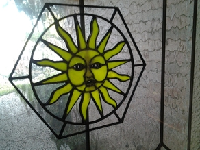Sun Stained Glass