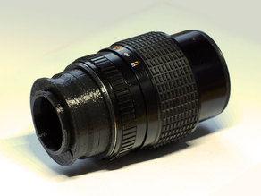 Pentax K to MFT Adapter