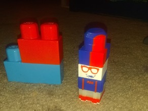 Blippi Mega Block set