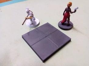 Scifi floor tiles - Plain