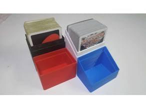 Plain card box without label