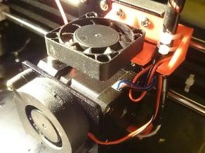 Anet A8 alternative 40mm Extruder Fan Mount
