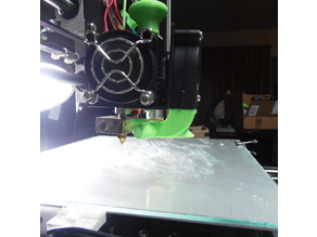 Better Visual Left-Clearance Fan Anet A8 - 19mm
