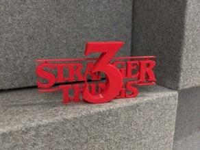 Stranger Things Season 3 Logo
