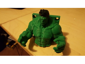 Hulk Wall Hanger for Quadcopter Drone Backpack Hat Guitar etc.