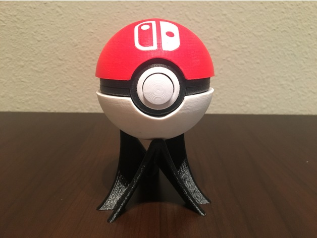 functional pokéball - nintendo switch game cartridge case by samk3ys ...