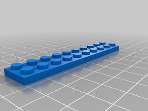 Lego Plate 2x10