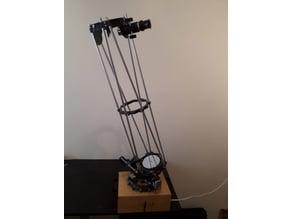 4,5'' (114 mm) dobsonian telescope (electrical Alt-Azimuth mount)