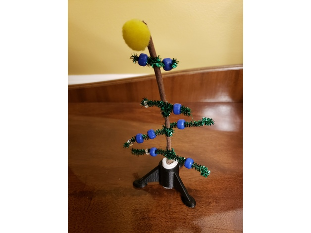 World's Smallest Christmas Tree Stand. by lewisbe7 Dec 20, 2018. Thingiview - World's Smallest Christmas Tree Stand By Lewisbe7 - Thingiverse