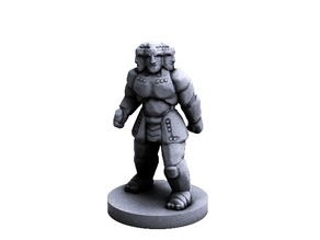 Iron Guardian (18mm scale)