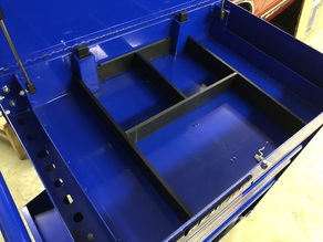 Harbor Freight 5 Drawer Toolcart Top Divider