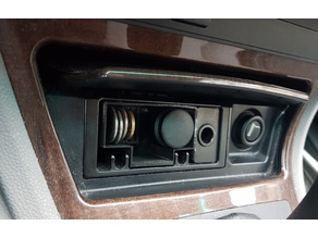 front ashtray coin holder for BMW vehicles