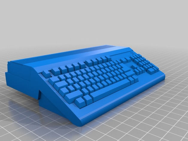 Raspberry Pi A+/B+/2 Amiga 500 case by ABrugsch - Thingiverse