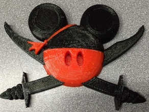 Pirate Mickey with magnet, Fish Extenders