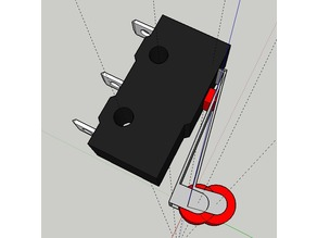 Roller Lever Switch CAD