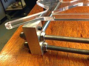 Sturdier RepRap Prusa i3 Aluminium corner pieces