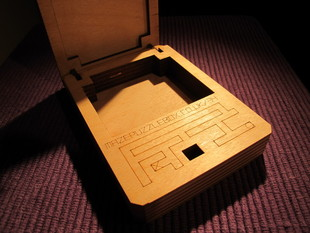 Laser cut Puzzle box in 4mm ply