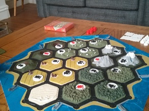 Settlers of Catan Interlocking Pieces