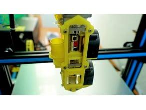 Universal Pellet Extruder Open Front