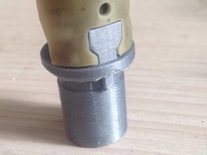 part of microphone clamp