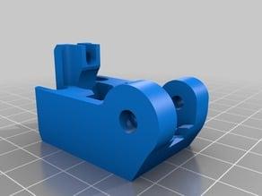 Lulzbot Extruder Beefy Idler Block for Greg/Wade style extruders - Heatset Insert Edition