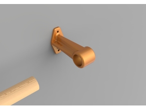Curtain rod holder / Support tringle à rideaux