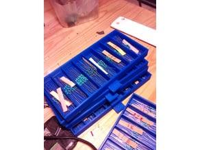 Rangement pour resistances (resistor box)