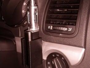 Modular ecigarette Modbox holder including desk mount and Skoda Yeti Dash mount
