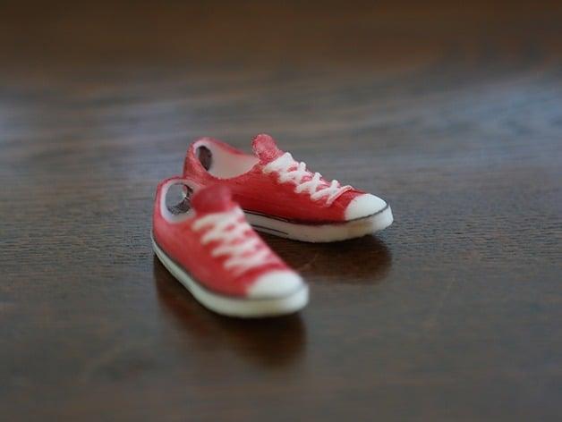 bb114809e394 Mini Converse Shoes by xxhansonmaxx - Thingiverse