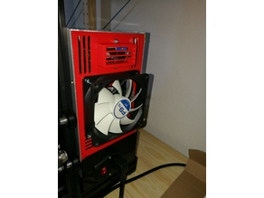 Ender-3 PSU Cover 92 mm fan LM2596
