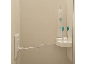 Sonicare Electric Toothbrush Wall Mount
