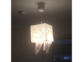 Minecraft Ghast Lamp - Batten Fix