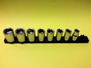 Socket Holder, Straight Rail