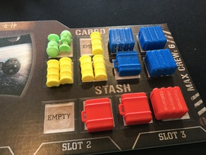 Firefly: The Game Cargo Hold Tokens