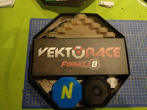 Vektorace Octagon Box Organizer